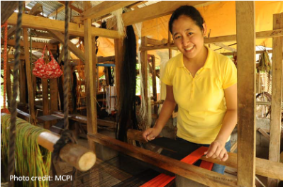 photo of microfinance client (photo credit MCPI)