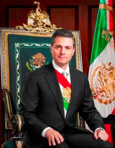 "Presidente Enrique Peña Nieto. Fotografía oficial"" by PresidenciaMX 2012-2018 - Own work. Licensed under Creative Commons Attribution-Share Alike 3.0 via Wikimedia Commons"