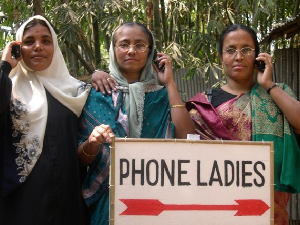 Grameen phone ladies from 2007