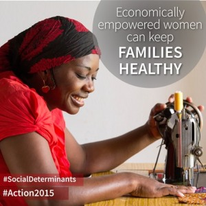 Economically empowered women can keep families healthy