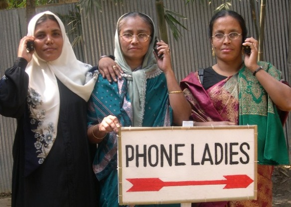 Grameen Phone ladies