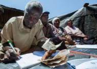 Peter Maina, Treasurer for Self-Help Group (Thika, Kenya). Photo courtesy of Hand in Hand International