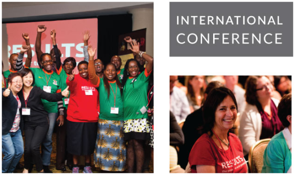 RESULTS is hosting its 35th annual International Conference on Capitol Hill in Washington DC from July 18th to July 21st, featuring many leading poverty experts, activists. and policy makers.