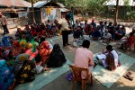 A BRAC village conducts a participatory wealth ranking exercise to identify participants for their graduation program. Photo  courtesy of BRAC USA